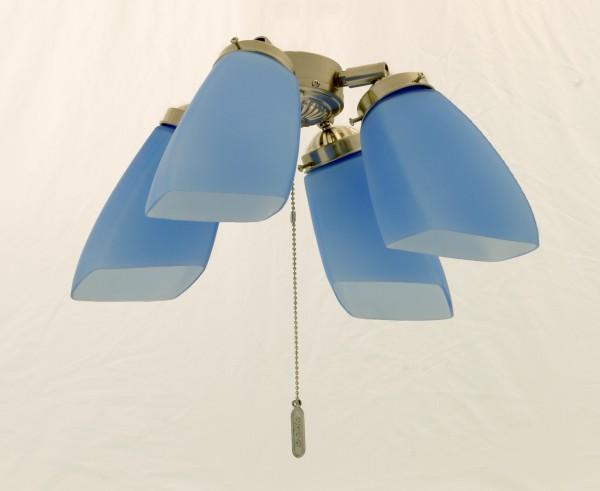Deko Beleuchtungssatz N330 chrom matt