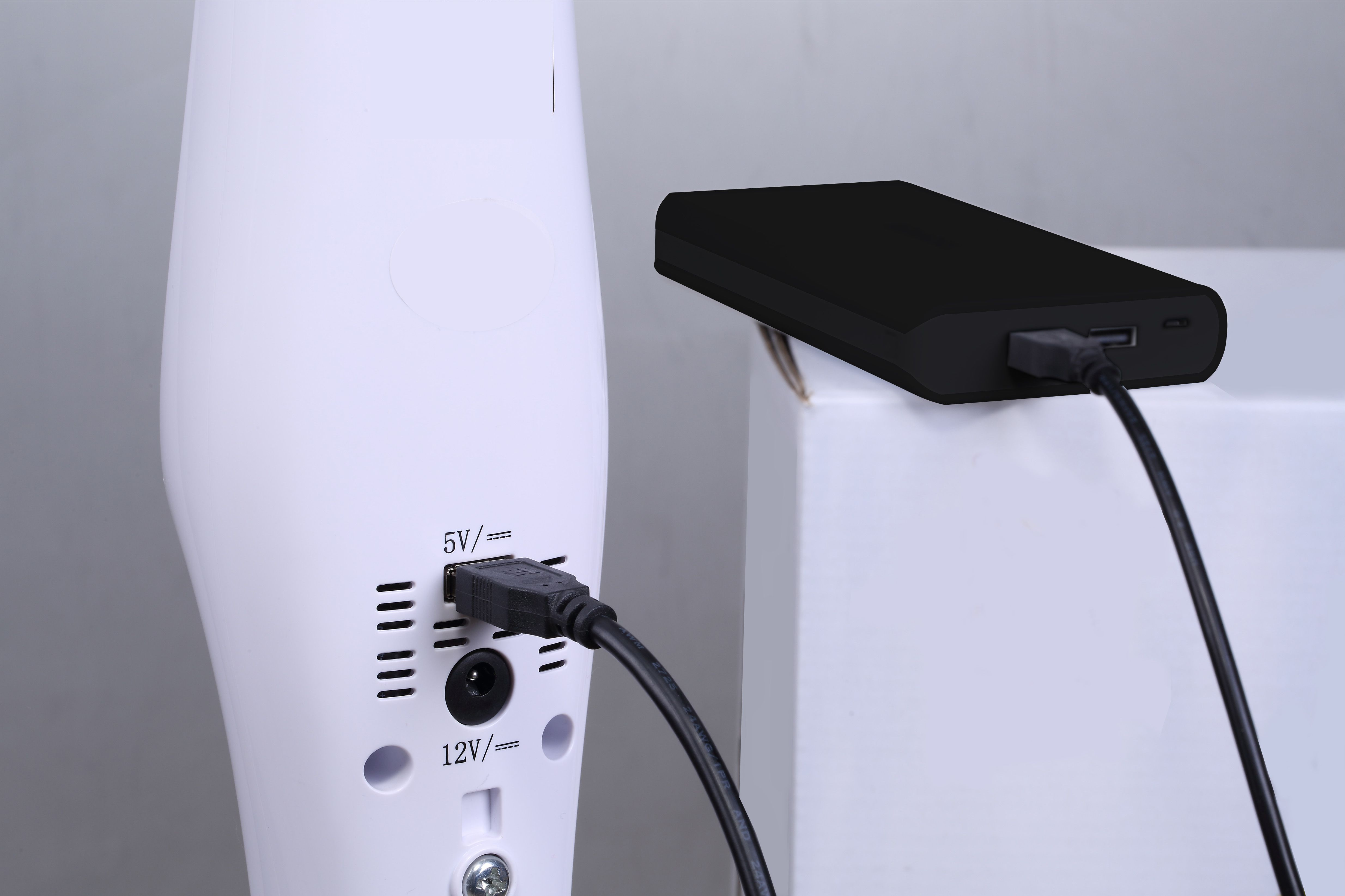 deko akku stand ventilator silence stratos b450 akku ventilatoren deko design. Black Bedroom Furniture Sets. Home Design Ideas
