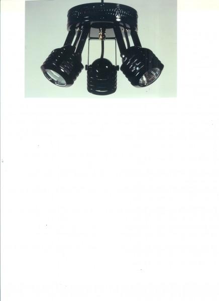 Deko Beleuchtungssatz Halogen N702 schwarz
